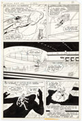 Original Comic Art:Panel Pages, Curt Swan and Dan Adkins Superman #323 Story Page 9 Original Art (DC, 1978)....