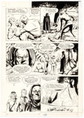 Original Comic Art:Panel Pages, Al McWilliams (attributed) Flash Gordon Story Page 28 Original Art (c. 1980)....
