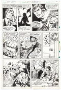 Original Comic Art:Panel Pages, George Tuska and Mike Esposito Iron Man #60 Page 11 Original Art (Marvel, 1973)....