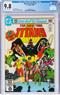 New Teen Titans #1 (DC, 1980) CGC NM/MT 9.8 Off-white to white pages