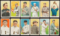 1909-11 T206 Piedmont 350-460 Subjects Collection (12)