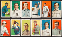 1909-11 T206 Piedmont 350 Subjects Collection (12)