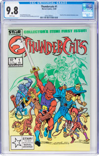 Thundercats #1 (Marvel, 1985) CGC NM/MT 9.8 White pages