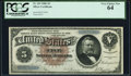 Fr. 263 $5 1886 Silver Certificate PCGS Very Choice New 64