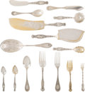 Silver & Vertu, A Forty-Piece Whiting Manufacturing Company Assembled Silver Flatware Service, Providence, Rhode Island, late 19th century. ... (Total: 40 Items)