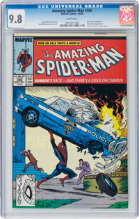 The Amazing Spider-Man #306 (Marvel, 1988) CGC NM/MT 9.8 White pages