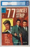 Silver Age (1956-1969):Miscellaneous, Four Color #1066 77 Sunset Strip (Dell, 1960) CGC NM 9.4 Cream to off-white pages....