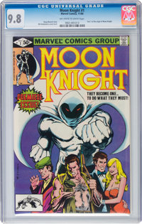Moon Knight #1 (Marvel, 1980) CGC NM/MT 9.8 Off-white to white pages