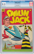 Golden Age (1938-1955):Adventure, Smilin' Jack #2 (Dell, 1948) CGC VF+ 8.5 Cream to off-white pages....