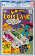 Silver Age (1956-1969):Superhero, Superman's Girlfriend Lois Lane #60 (DC, 1965) CGC VF+ 8.5 Off-white pages....