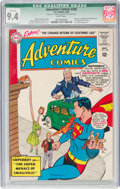 Silver Age (1956-1969):Superhero, Adventure Comics #308 (DC, 1963) CGC Qualified NM 9.4 White pages....