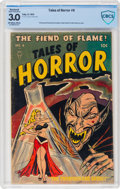 Golden Age (1938-1955):Horror, Tales of Horror #6 (Toby Publishing, 1953) CBCS Restored GD/VG 3.0 Slight (P) Off-white to white pages....