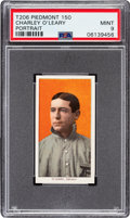 Baseball Cards:Singles (Pre-1930), 1909-11 T206 Piedmont 150 Charley O'Leary (Portrait) PSA Mint 9 - Pop Three, None Higher! ...