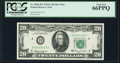 Small Size:Federal Reserve Notes, Fr. 2066-D* $20 1963A Federal Reserve Star Note. PCGS Gem New 66PPQ.. ...