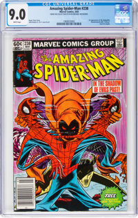 The Amazing Spider-Man #238 (Marvel, 1983) CGC VF/NM 9.0 White pages