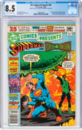 Modern Age (1980-Present):Superhero, DC Comics Presents #26 Superman and Green Lantern (DC, 1980) CGC VF+ 8.5 Off-white to white pages....