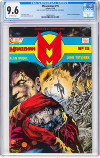 Miracleman #15 (Eclipse, 1988) CGC NM+ 9.6 Off-white pages
