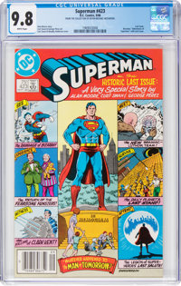 Superman #423 (DC, 1986) CGC NM/MT 9.8 White pages