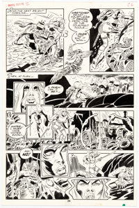 Frank Thorne Marvel Feature Volume #2 Red Sonja Story Page