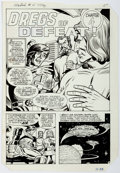 Original Comic Art:Complete Story, Dick Ayers and Chic Stone Mantech Robot Warriors #4 Story Pages 19-23 Original Art (Archie Comics, 1985).... (Total: 5 Original Art)