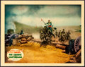 "Movie Posters:Action, The Charge of the Light Brigade (Warner Brothers, 1936). Very Fine+. Linen Finish Lobby Card (11"" X 14""). Action.. ..."