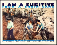 "I Am a Fugitive from a Chain Gang (Warner Brothers, 1932). Very Fine. Lobby Card (11"" X 14""). Film Noir"