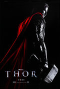 "Movie Posters:Action, Thor (Paramount, 2011). Rolled, Very Fine+. One Sheet (27"" X 40"") DS, Advance. Action.. ..."