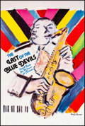 "Movie Posters:Documentary, The Last of the Blue Devils (Rhapsody, 1980). Rolled, Very Fine+. Poster (24"" X 36"") Wayne Ensrud Artwork. Music Documentary..."