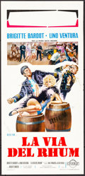 "Movie Posters:Foreign, Rum Runners (Cineriz, 1972). Folded, Very Fine-. Italian Locandina (13"" X 27.5""). Foreign.. ..."