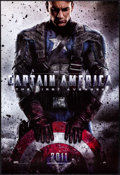 """Movie Posters:Action, Captain America: The First Avenger (Paramount, 2011). Rolled, Very Fine/Near Mint. One Sheet (27"""" X 40"""") DS, Advance. Action..."""