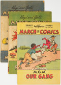 Golden Age (1938-1955):Miscellaneous, March of Comics Group of 7 (K. K. Publications Inc., 1947-51).... (Total: 7 Comic Books)