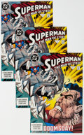 Modern Age (1980-Present):Superhero, Superman: The Man of Steel #18 and 19 Group of 22 (DC, 1992-93) Condition: Average NM-.... (Total: 22 )