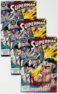 Superman: The Man of Steel #18 and 19 Group of 22 (DC, 1992-93) Condition: Average NM-.... (Total: 22)