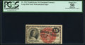 Fractional Currency:Fourth Issue, Fr. 1267 15¢ Fourth Issue PCGS About New 50 Apparent.. ...