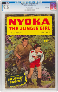 Nyoka the Jungle Girl #73 Crowley Copy Pedigree (Fawcett Publications, 1952) CGC NM+ 9.6 Off-white pages