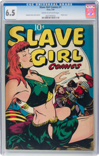 Slave Girl Comics #1 (Avon, 1949) CGC FN+ 6.5 Cream to off-white pages