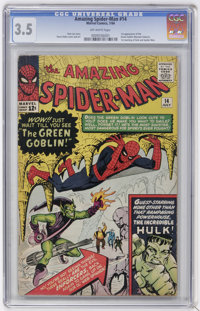 The Amazing Spider-Man #14 (Marvel, 1964) CGC VG- 3.5 Off-white pages