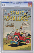 "Golden Age (1938-1955):Funny Animal, Comic Cavalcade #49 Davis Crippen (""D"" Copy) pedigree (DC, 1952)CGC VF 8.0 Off-white to white pages...."