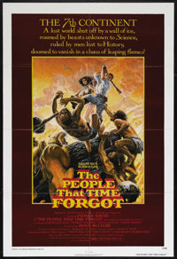 "The People That Time Forgot (AIP, 1977). One Sheet (27"" X 41""). Science Fiction. Starring Doug McClure, Patric..."