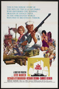 "Movie Posters:War, The Sand Pebbles (20th Century Fox, 1966). One Sheet (27"" X 41"").War Drama. Starring Steve McQueen, Richard Attenborough, R..."