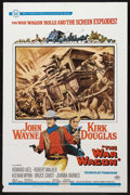 "Movie Posters:Western, The War Wagon (Universal, 1967). One Sheet (27"" X 41""). Western. Starring John Wayne, Kirk Douglas, Howard Keel, Robert Walk..."