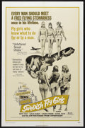 "Movie Posters:Bad Girl, Swedish Fly Girls (Trans American, 1972). One Sheet (27"" X 41""). Adult Comedy. Starring Birte Tove, Susan Hurley, Inger Sten..."