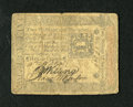 Colonial Notes:Pennsylvania, Pennsylvania October 1, 1773 2s/6d Very Good. This is a wellcirculated, yet intact Colonial. The signatures are dark....