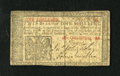 Colonial Notes:New Jersey, New Jersey March 25, 1776 1s Fine. One small edge tear is noticed....