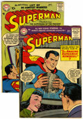 Golden Age (1938-1955):Superhero, Superman #98 and 113 Group (DC, 1955-57) Condition: VG+.... (Total: 2)