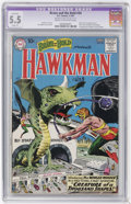 Silver Age (1956-1969):Superhero, The Brave and the Bold #34 Hawkman (DC, 1961) CGC Apparent FN- 5.5 Slight (P) Cream to off-white pages....