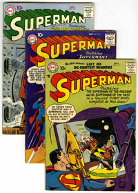 Superman Group (DC, 1957-58) Condition: Average VG/FN.... (Total: 5)