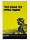 "Movie Posters:Drama, Easy Rider (Columbia, 1969). Poster (30"" X 40""). Style C. This filmstarred Peter Fonda, Dennis Hopper and Jack Nicholson, a..."