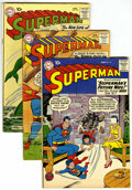 Silver Age (1956-1969):Superhero, Superman Group (DC, 1959-61) Condition: Average FN.... (Total: 4)