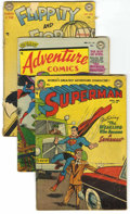 Golden Age (1938-1955):Superhero, DC Golden Age Superhero Group (DC, 1951-56). Condition: Reading Copies.... (Total: 26)